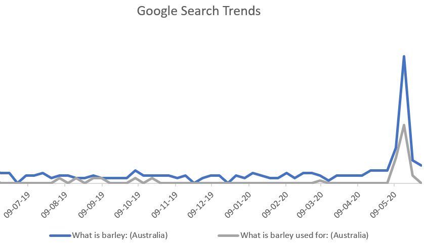 Source: Google Trends 2020